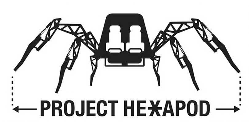 Stompy gets off the ground with a Kickstarter: buy a ride on a 2-ton hexabot