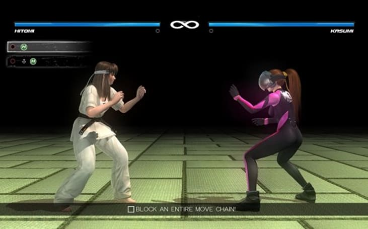 Dead or Alive 5 Plus 'Touch Fight' mode exactly what it sounds like