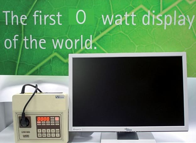 Fujitsu Siemens ships world's first zero-watt monitor