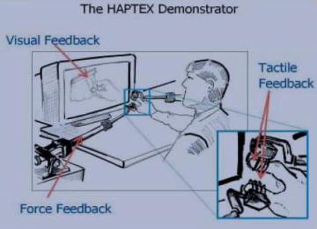 Haptics research underway so you can virtually feel fabrics