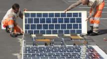 Frankreich hat die erste Solarstraße der Welt