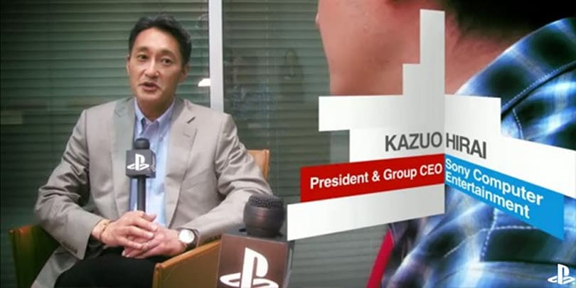 Kaz Hirai to become Sony Computer Entertainment Chairman, leave Andrew House with tough CEO gig