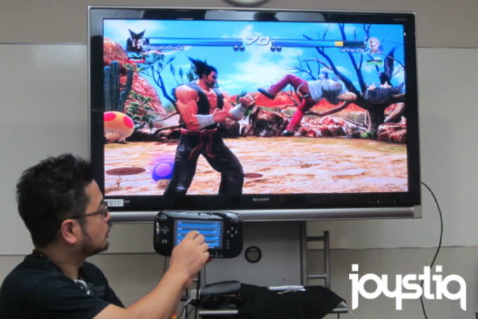 Touchscreen controls coming to Tekken Tag Tournament 2: Wii U Edition