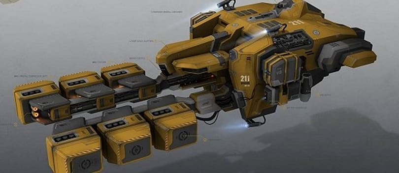 EVE Online reveals ship revamp details, shows off new mining ship