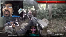 Chatroulette users stumble into a live-action zombie shooter