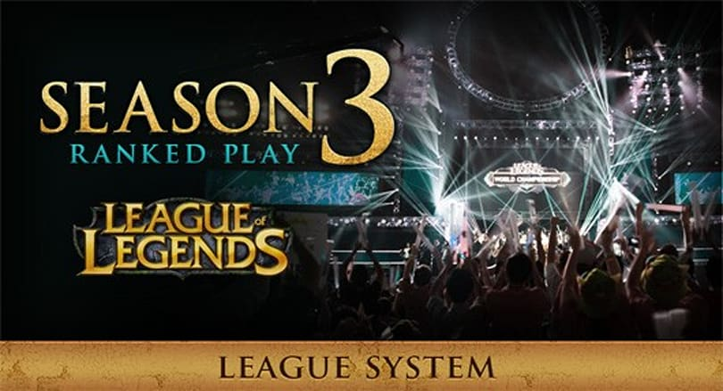 League of Legends implementing new league system for Season 3