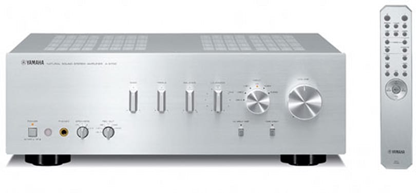 Yamaha brings the style with A-S700 / CD-S700 audio components