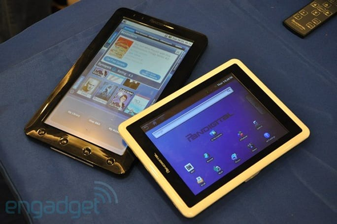 Pandigital 7- and 9-inch Android tablets hands-on