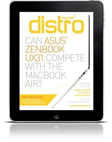 Engadget Distro Issue 10: It's alive! And ready for download