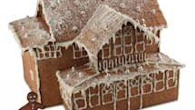 Engineer builds gingerbread house using CAD and lasers, aging droids approve