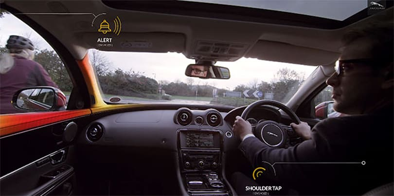 Jaguar Land Rover's latest project uses in-car alerts to protect cyclists