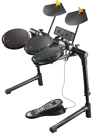 Logitech ups its skins game with the Guitar Hero Wireless Drum Controller