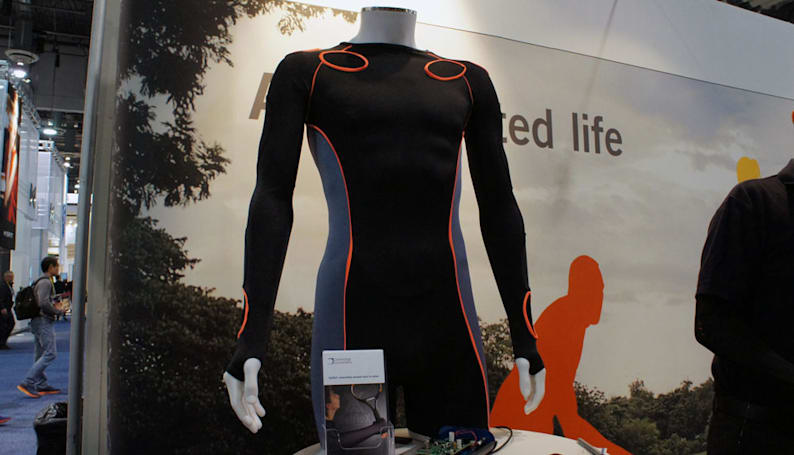 Your next smart shirt will make you look like an extra from 'Tron'