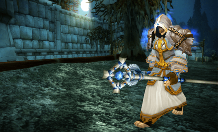 How to look like a priest with transmogrification (even if you're actually a mage)