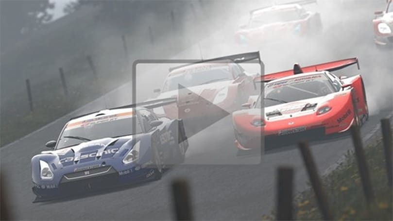 Gran Turismo 5's weather effects and X1 Prototype in video