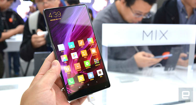 Xiaomi's Mi MIX is all about its gorgeous edge-to-edge display