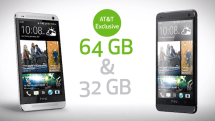 HTC One 64GB will arrive as AT&T exclusive (video)