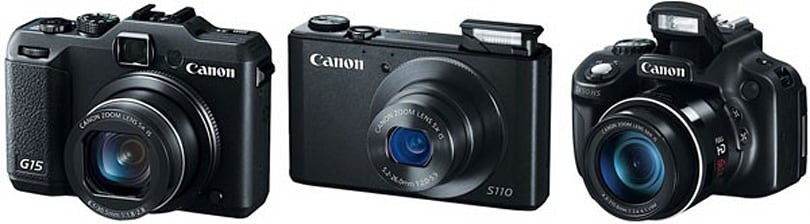 Canon adds the G15, S110 and SX50 HS to its PowerShot lineup