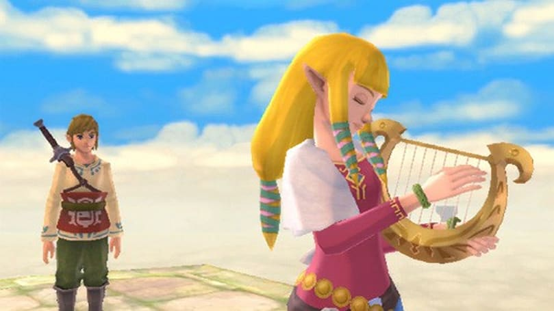 Legend of Zelda: Skyward Sword save files repaired by Wii channel
