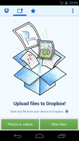 Dropbox knows you're an early adopter, gives you a sneak peek of its new Android app