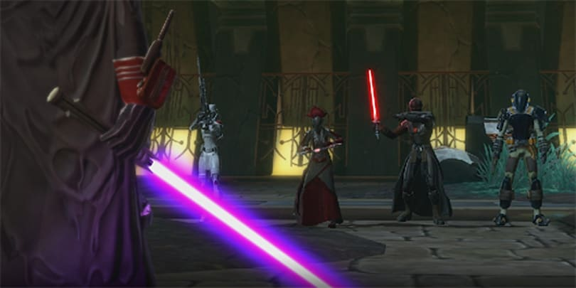 SWTOR's Revan Returns trailer has a lot of Revans in it