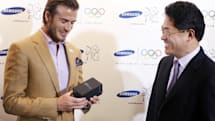 Caption Contest: Samsung hires David Beckham as a global brand ambassador