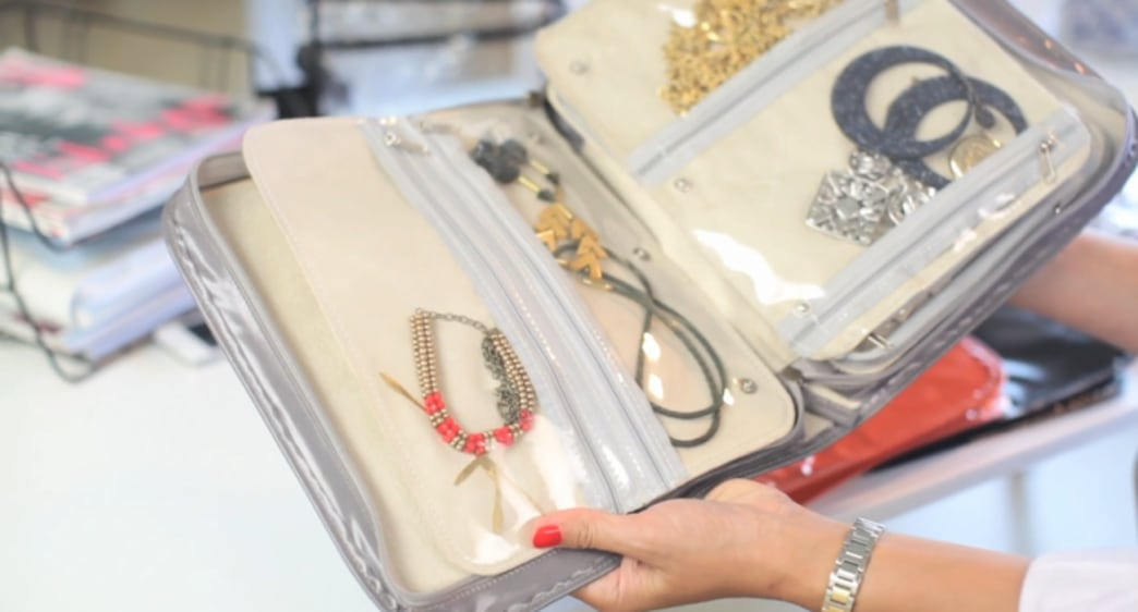 Shop this video: the ultimate travel jewelry case