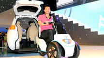 Geely McCar comes with an electric scooter for people who hate walking