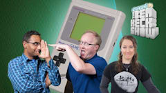 Ben Heck's giant Game Boy