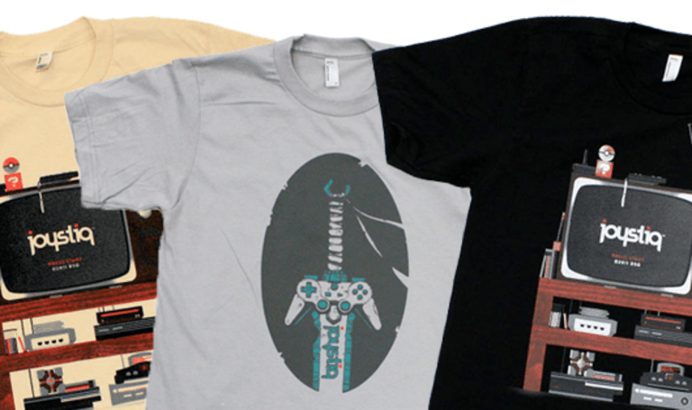 Presenting Joystiq T-Shirts for you to buy on TopatoCo!