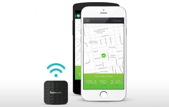 Metromile's Tag uses Apple iBeacon tech to track your driving