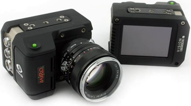 Vision Research rolls out high-speed Phantom Miro eX-series cameras