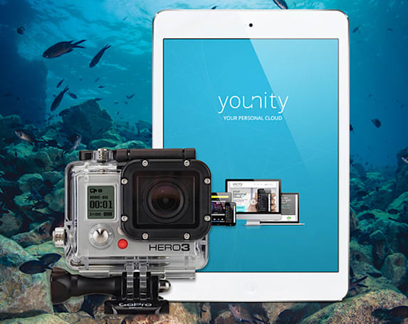 Engadget giveaway: win an iPad mini and GoPro Hero3+ Black Edition courtesy of younity!