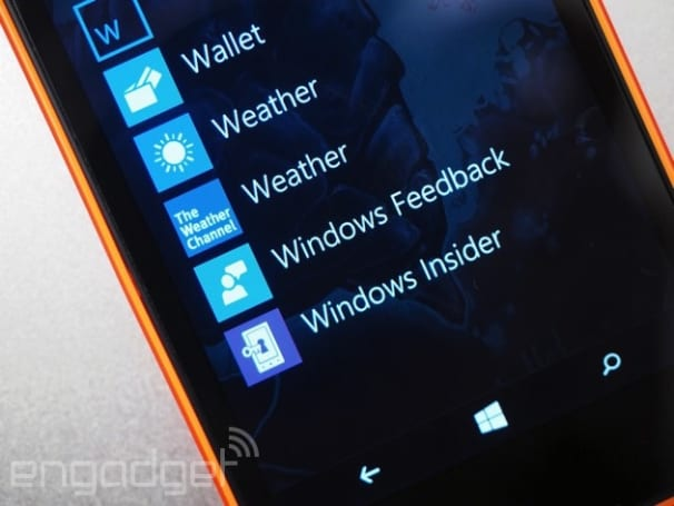 The Windows 10 preview will work on more phones soon