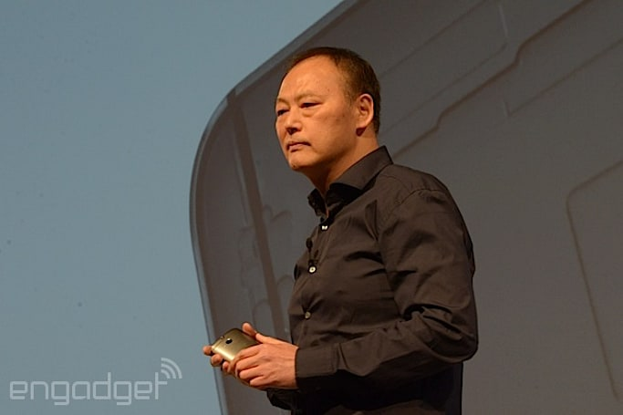 HTC CEO Peter Chou was heavily involved in the One's design