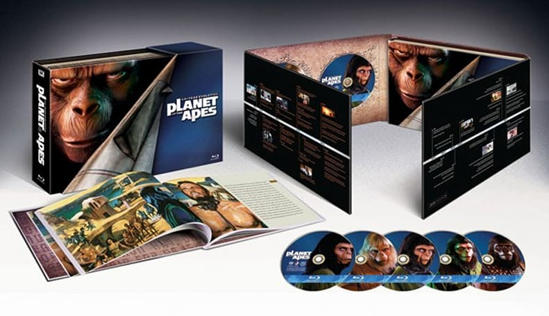 Planet of the Apes: 40-Year Evolution Blu-ray set oozes bonus material
