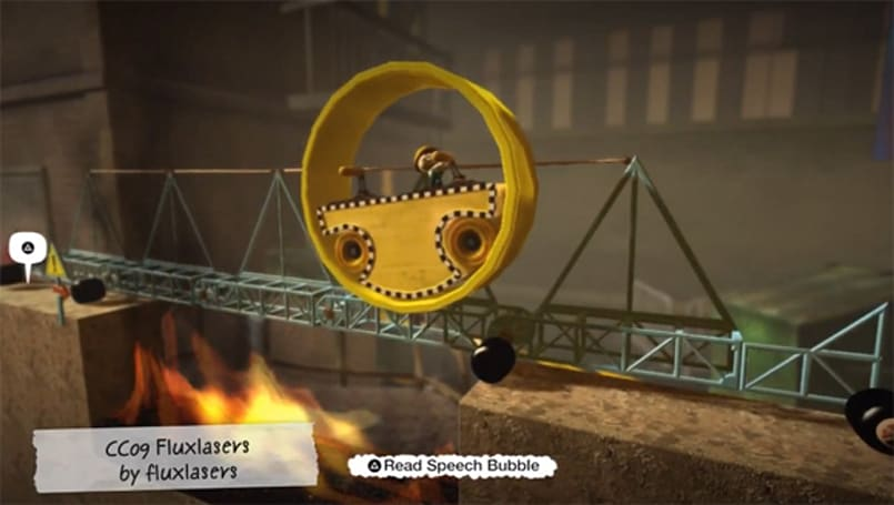 LittleBigPlanet Contraption Challenge finalists clear gaps in style