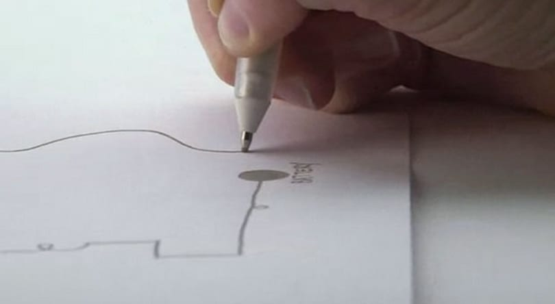 You can draw circuit boards onto paper with this pen (video)
