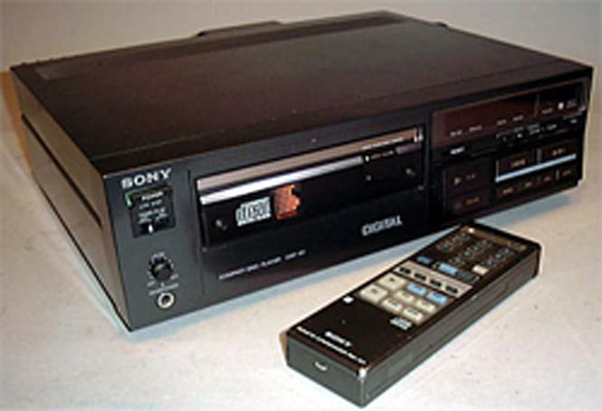 1983 review of Sony's first-ever CD player unearthed: hindsight's a beautiful thing