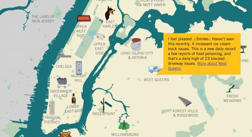 Microsoft's 'HereHere' project maps what's wrong with NYC neighborhoods