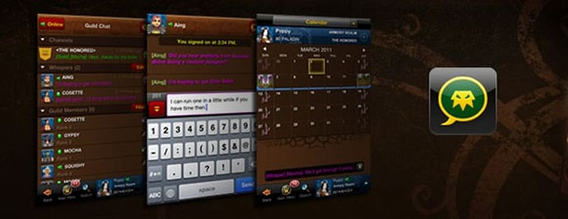Mobile guild chat updated for Android app