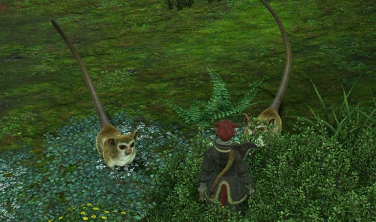 Fans dig out a hardware mouse in Final Fantasy XIV