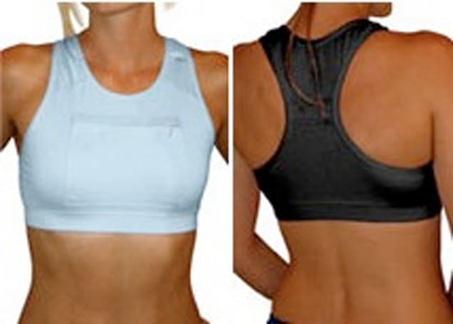 Macenstein reviews iPod sports bra