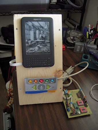 Engineer hacks a Kindle, creates easy to use prototype for sister with cerebral palsy