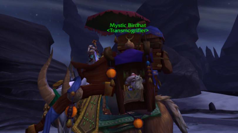 Warlords of Draenor Alpha: Mystic Birdhat's new job