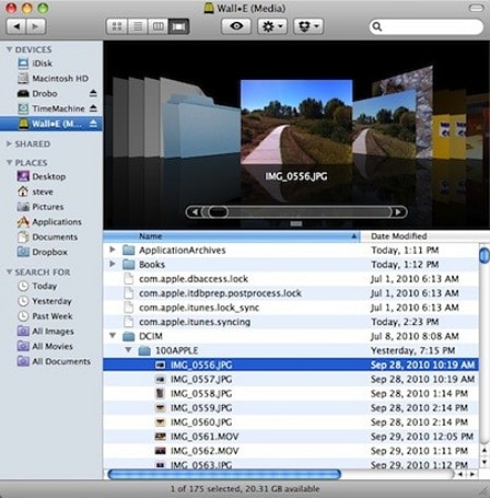 Phone Disk: Mounting your iOS device in OS X or Windows for free