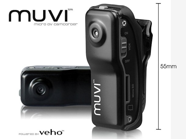 Veho's Muvi adventure-oriented camcorder claims to be world's smallest, probably isn't