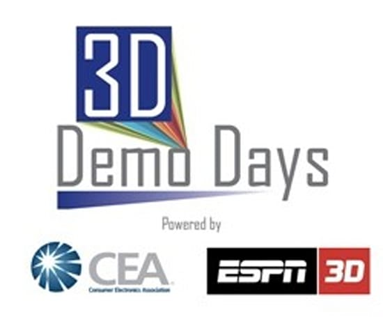 CEA's Demo Days brings ESPN 3D to retailers for one weekend in September