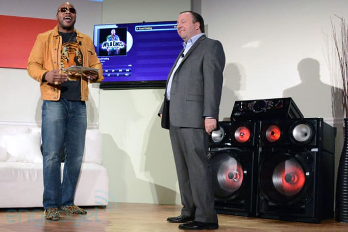 Samsung, Flo Rida introduce massive Giga Sound MX-FS9000 speakers (update: hands-on video)