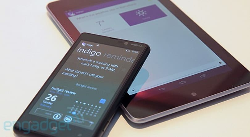 Indigo is a cloud-based, cross-platform personal assistant for Android and Windows Phone 8 (hands-on)